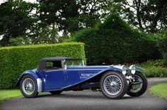 1935 Riley Kestrel...my Cruella Devil car. Fits to a T:)