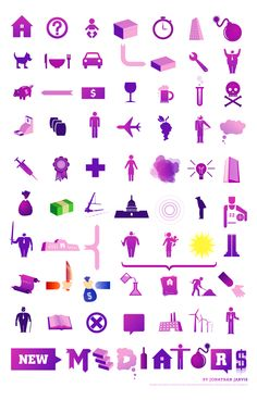 FREE RESOURCE: New Mediators Icons by Jonathan Jarvis. Available for free use under the creative commons license. Can be uploaded for use in non-commercial GoAnimate videos.