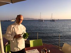 Chef collecting herbs, to prepare your meals with fresh, local ingredients! Best Hotels, Kos, Greek, Herbs, Luxury, World, Breakfast, Travel, Morning Coffee