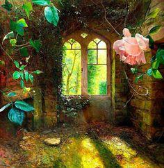 Enchanting, maybe enchanted, door....