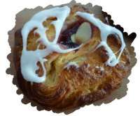 Small Danish (Spandauer). The most popular  Danish Pastry. For Recipe see http://www.denmark-getaway.com/danish-pastry.html
