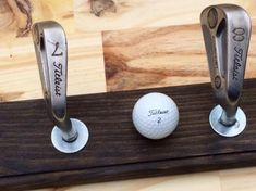 Golf Clubs Vintage Golf Club Coat Rack Hat Rack by MasonDixonAndDime on Etsy Golf Clubs For Sale, Best Golf Clubs, Vintage Golf Clubs, Golf Breaks, Golf Club Sets, Golf Lessons, Play Golf, Taylormade, Ladies Golf