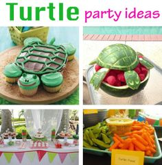 Turtle Toddler Party Ideas