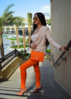 LAURA BADURA FASHION & BEAUTY: Tangerine