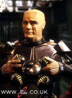 Well spin my nipple nuts and send me to Alaska! (Kryten, Red Dwarf)