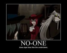 Rape face level:Undertaker