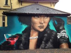 by Rmerism (Rmer) - New piece - for Empty Walls Street Art festival - Cardiff, Wales - Sept 2014