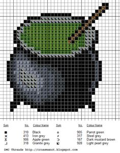 New Halloween Cross Stitch Patterns | Posted by Sarajessica at 9:07 AM