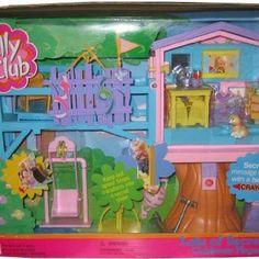 2001 MATTEL KELLY BARBIE DOLL TREEHOUSE TREEHOUSE.