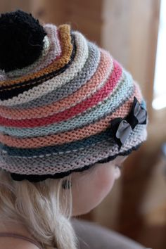 Kaunis, kaunis hattu! Ihana idea!