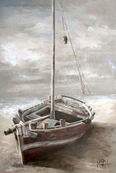 House Of Maria por Maria Magdalena Oosthuizen ✿⊱╮ por VoyageVisuelle Poseidon, Boat Art, South African Artists, Nautical Art, Art Graphique, Painting Patterns, Painting Art, Cool Paintings, Beautiful Artwork