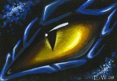 Art: Blue Dragon Eye by Artist Elaina Wagner Dragon Eye Drawing, Dragon Sketch, Blue Dragon, Dragon Art, Dragon Head Tattoo, Phoenix Artwork, Eye Sketch, Dragon Warrior, 5th Grade Art