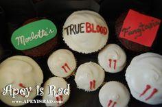 True Blood cupcakes @Emme Singer