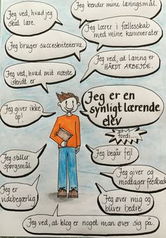Jeg manglede en plakat til min klasse, som vi kan vende tilbage til for at tale om, hvilke karakteristika den synligt lærende elev har. Den er lavet til udskolingen 7.-9. klasse. Teaching Schools, Teaching Tips, Visible Learning, Teachers Toolbox, Classroom Layout, Learning Goals, Sketch Notes, English Classroom, Cooperative Learning