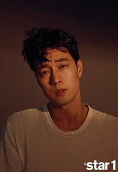 "Actor So Ji Sub recently posed for the February issue of @Star1 magazine and sat down for an interview. During the interview, So Ji Sub expressed gratitude toward his co-star actress Shin Min Ah in the KBS 2TV's drama ""Oh My Venus."" He said, ""I want to tell her she did a great job. She looked so lov..."