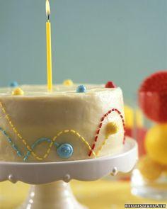 Bouncy ball cake