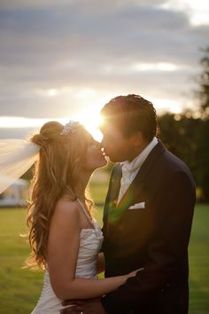 Romantic sun flare  Cat Hepple photography - adorable!