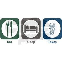 my life during tax season