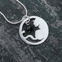 Silver Jewelry Silver Pendant Silver by AngelaWrightDesigns, £96.00