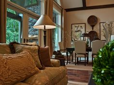 Browse photos and tell us which DIY Network Blog Cabin living room you like the most. From the experts at DIYNetwork.com.