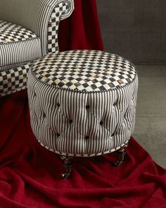 "Super Sweet! ""Underpinnings"" Ottoman by MacKenzie-Childs"