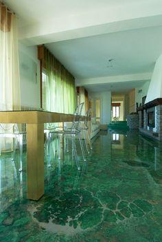 Decorative Concrete Floors: A Comprehensive Maintenance Guide - KUKUN Epoxy 3d, Epoxy Resin Flooring, 3d Flooring, Flooring Ideas, Floor Murals, Floor Art, Epoxy Floor Designs, Acid Stained Concrete Floors, Painted Floors