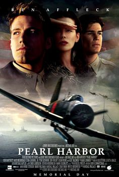 PEARL HARBOR American epic war film directed by Michael Bay, produced by Jerry Bruckheimer and written by Randall Wallace. Starring Ben Affleck, Josh Hartnett, Kate Beckinsale and Alec Baldwin. Pearl Harbor Filme, Film Pearl Harbor, Beau Film, See Movie, Film Movie, Movie Plot, Movies Showing, Movies And Tv Shows, Thriller