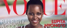 Lupita's Vogue Cover Is Here! Stunning, talented and intelligent...