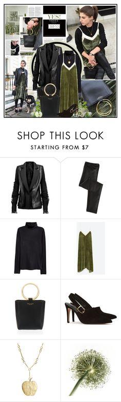 """YES! Velvet DRESS"" by katik27 ❤ liked on Polyvore featuring Maison Margiela, Henri Bendel, Reiss, Aurélie Bidermann and Paul Frank"