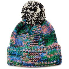 f93733250c0 Missoni Wool Pompom Beanie (3.565 ARS) ❤ liked on Polyvore featuring  accessories