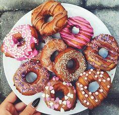 шоколад, цвета, мило, десерт, пончики, еда, друзья, идеально, фотография, розовый, лето, вкусно