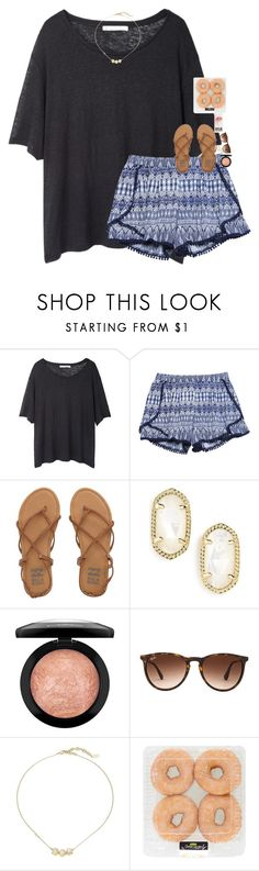 """shopping with my besties! collab with @laurenmf"" by classynsouthern ❤ liked on Polyvore featuring Acne Studios, Wet Seal, Billabong, Kendra Scott, MAC Cosmetics, Ray-Ban and Cole Haan"