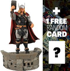 Thor 7 Marvel Select x Diamond Select Action Figure  1 FREE Official Marvel Trading Card Bundle -- Want to know more, click on the image.