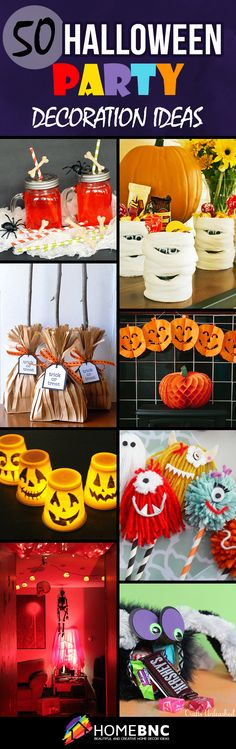 49 best Halloween Decorations images on Pinterest Halloween prop - halloween party centerpieces ideas