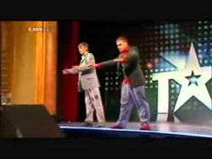 Best Robot Dance Ever..don't mind the German, just watch!!