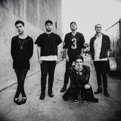 The Neighbourhood / The NBHD / black & white / Jesse Rutherford / Zach Abels / Bryan Sammis / Mikey Margott / Jeremy Freedman