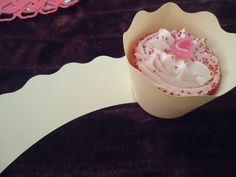 Wave edge - Cupcake wrap £0.20