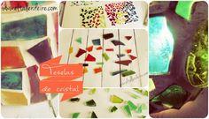 Cómo hacer teselas de cristal | Aprender manualidades es facilisimo.com