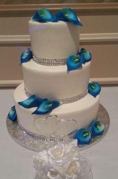 Pin by Minerva Muniz-Gallegos on Cake art - wedding | Pinterest