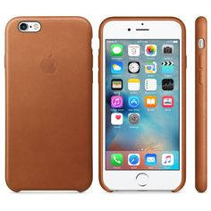 iPhone 6s Leather Case - Saddle Brown - Apple (UK)
