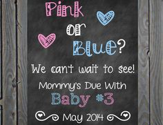 Printable Big Sister Big Brother Pregnancy Baby 3 Announcement Photo Prop Sign on Etsy, $10.00
