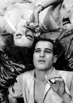 Newman / Woodward. Smoking. Something.
