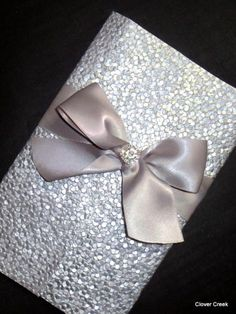 invitations unique glamour silver bling sparkle elegant wedding