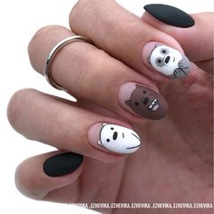 In search for some nail designs and some ideas for your nails? Here's our listing of must-try coffin acrylic nails for stylish women. French Tip Acrylic Nails, Almond Acrylic Nails, Best Acrylic Nails, French Nails, Acrylic Nail Designs, Disney Acrylic Nails, Dipped Nails, Dream Nails, Creative Nails