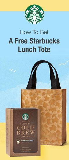 How To Get A Free Starbucks Lunch Tote: https://www.dealsplus.com/Kitchen_deals/p_free-starbucks-lunch-tote-w-purchase?utm_content=bufferbc162&utm_medium=social&utm_source=pinterest.com&utm_campaign=buffer