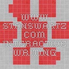 www.stanswartz.com INTERACTIVE WRITING