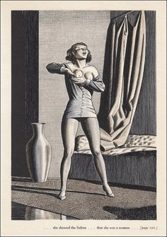 "ratak-monodosico: "" Today's Classic: The Decameron illustrated by Rockwell Kent "" Rockwell Kent, The Decameron, Vintage Illustration Art, Daguerreotype, Wood Engraving, Vintage Comics, Fantastic Art, Illustrations And Posters, Erotic Art"