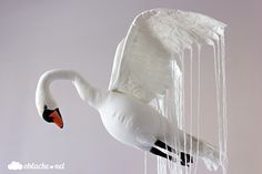 декорация за стена лебед swan wall decoration