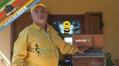 #apicoltura modo innovativo per affrontare la #sciamatura #api #apicoltori #weusetv #supergreen