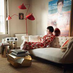 I need this coffee table!    Roseland Greene